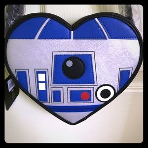 Loungefly R2-D2 Star Wars Heart Shaped Crossbody